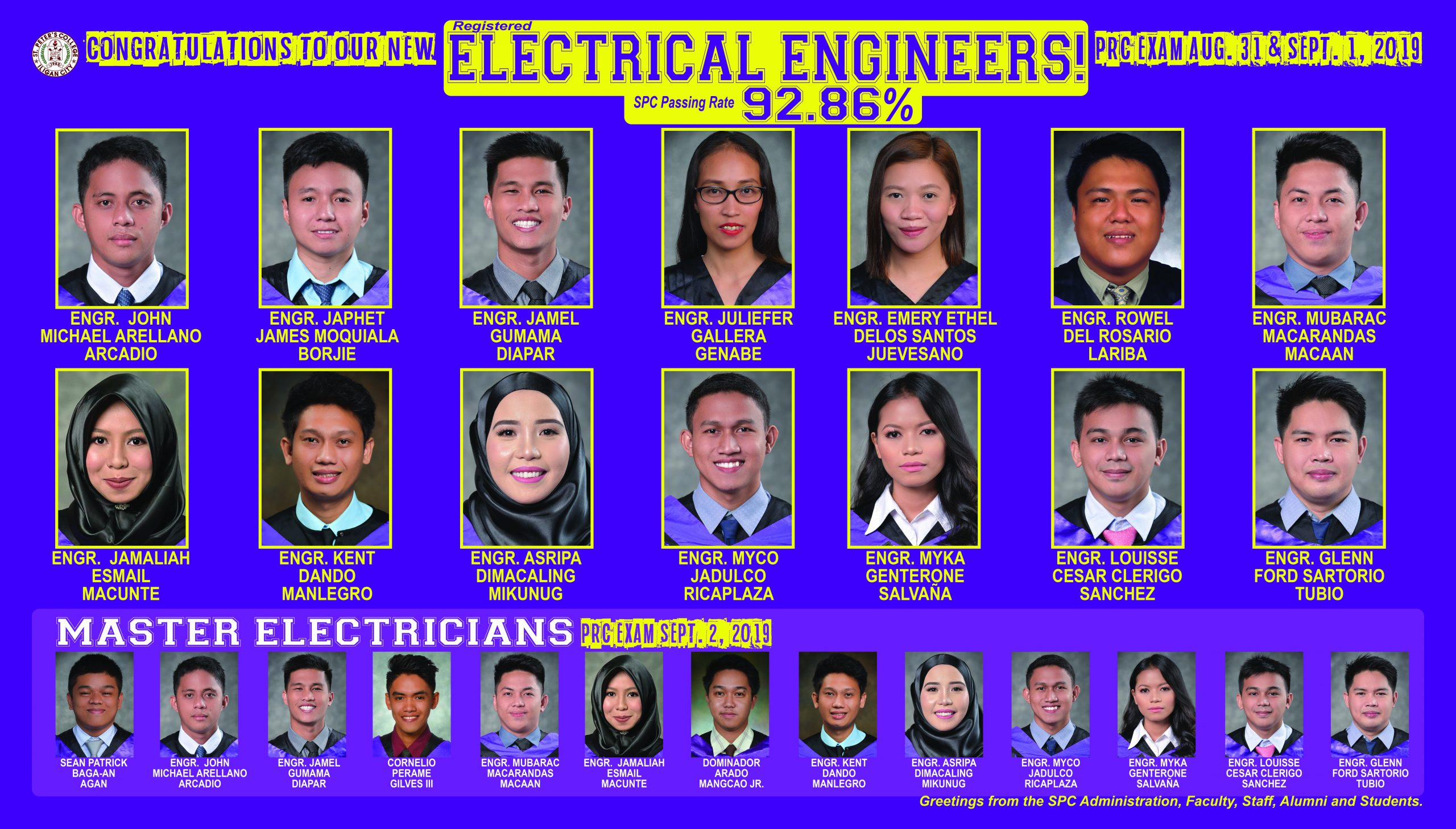 2019 August EE, Master Electricians